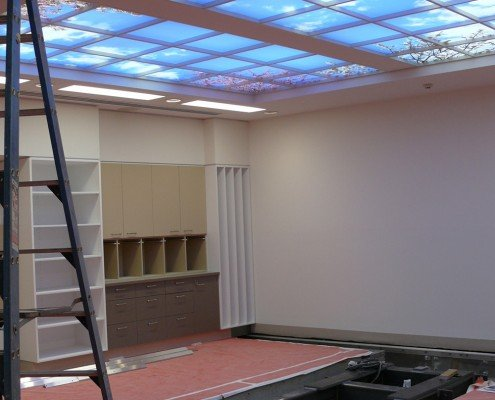 Royal Hobart Hospital ICC bunker fitout construction underway