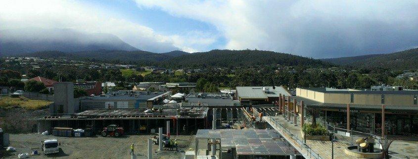 Channel Court, Kingston, Tasmania - in construction