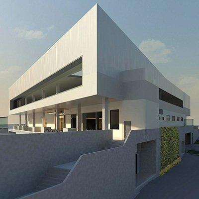 Channel Court, Kingston, Tasmania - 3D concept design render