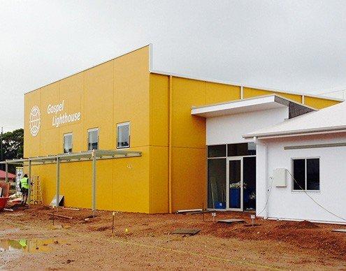 United Pentecostal Church, Morphett Vale, Adelaide - in construction