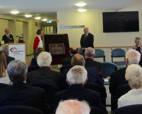 Freemasons' Nursing Home, Lindisfarne - opening day