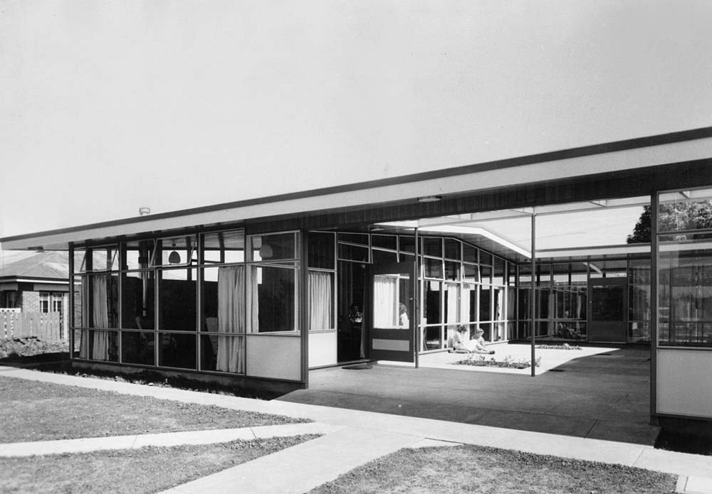 BPSM History: 1958 Courtyard House, Devonport