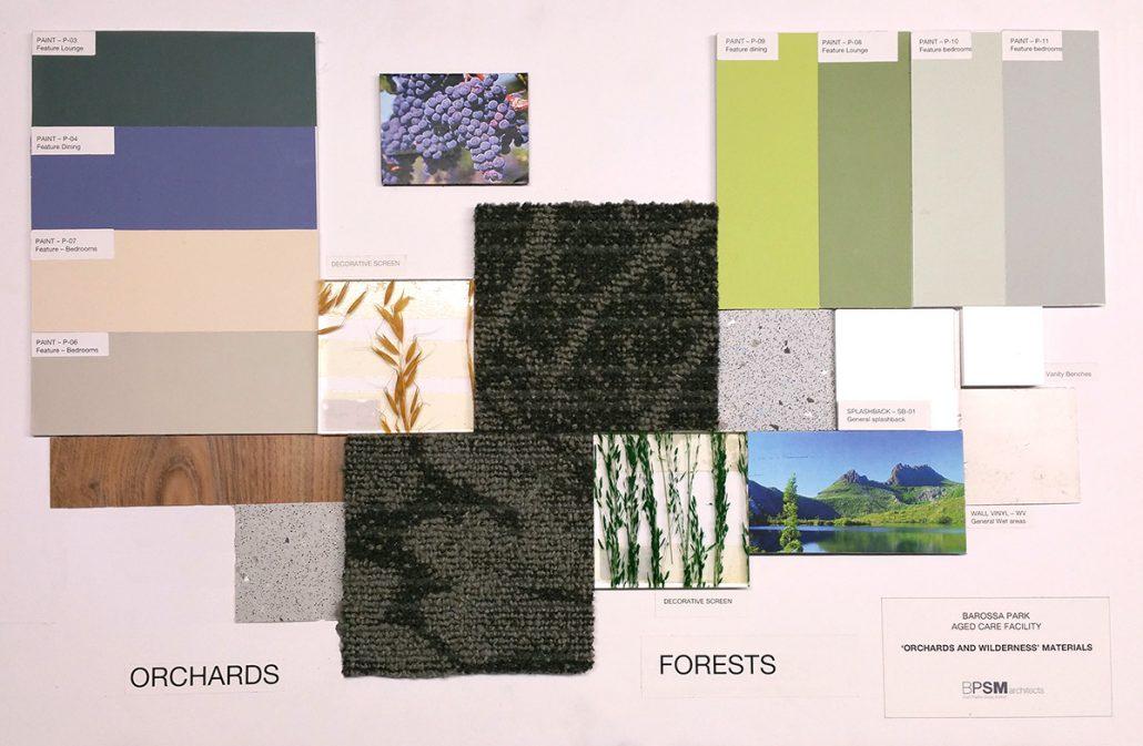 Barossa Park materials e-board