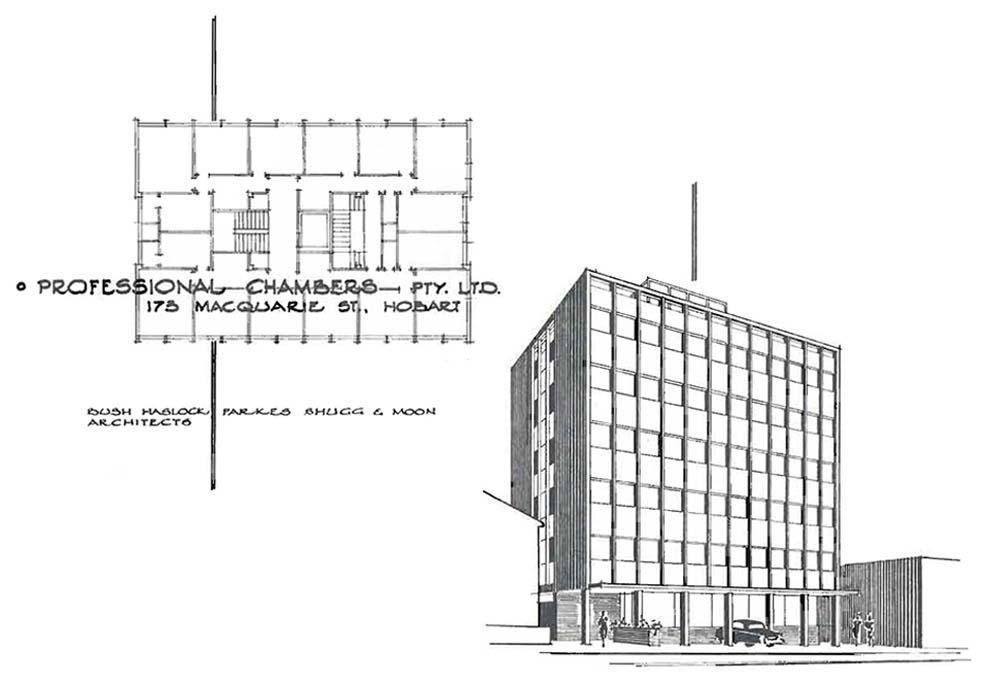 BPSM History: 173 Macquarie St, Hobart