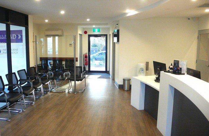 Caulfield Dermatology reception