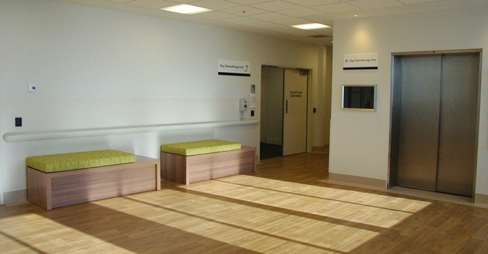 Royal Hobart Hospital Oncology Ward hallway
