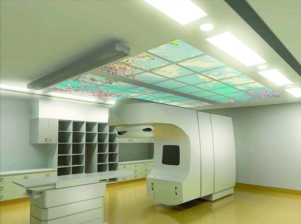 3D concept design sketch for Royal Hobart Hospital Integrated Cancer Centre