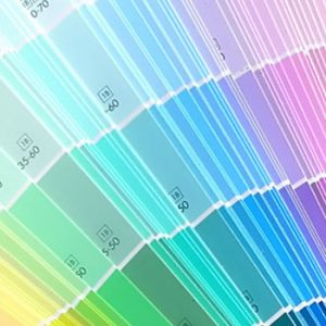 Adding value colour palette interior design paint sample fandeck