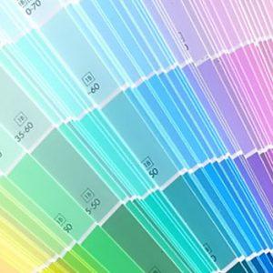 Adding value colour palette interior design paint sample fandeck