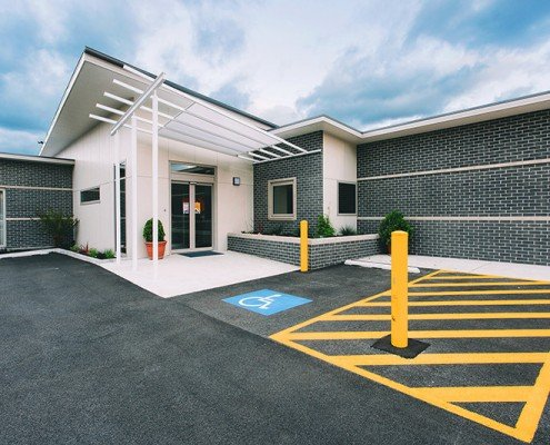 Freemasons' Homes of Southern Tasmania - Lindisfarne Nursing Home entrance