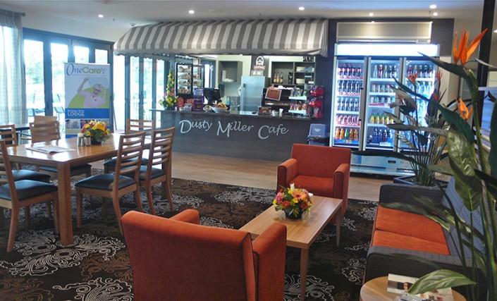 Barossa Park Lodge, Glenorchy Tasmania - Dusty Miller Cafe community