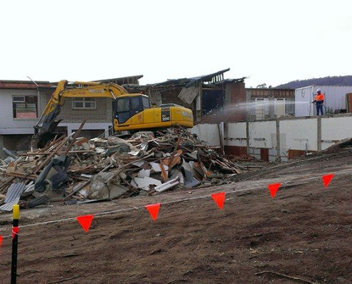 Freemasons' Homes of Southern Tasmania demolition