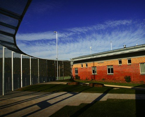 Risdon Prison Secure Mental Health Unit secure exercise yard