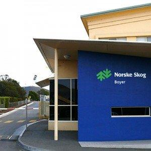Norske Skog, Boyer - industrial paper mill