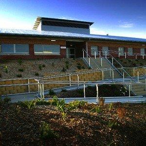 Risdon Prison front entry