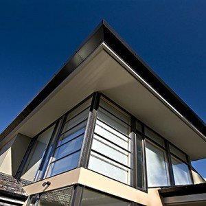 Private residence, Hobart, Tasmania - roof and window detail