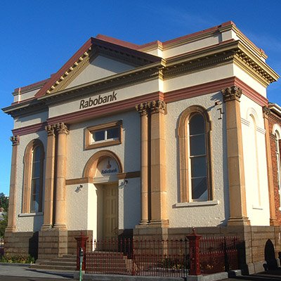 Heritage renovation and restoration, Rabobank, Launceston, Tasmania