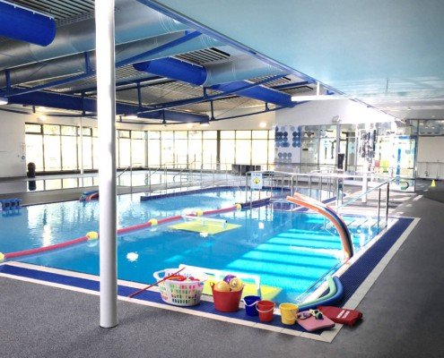 Barossa Park Hydrotherapy Pool YMCA kids area