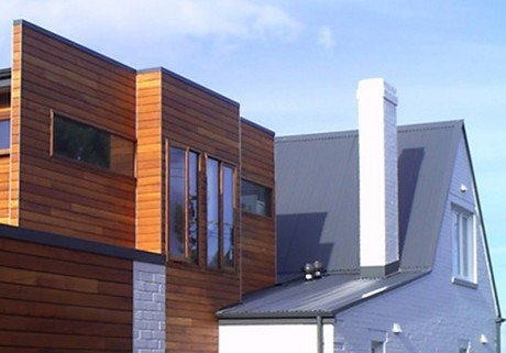 Private residence, Hobart - heritage restoration integrated with a modern extension