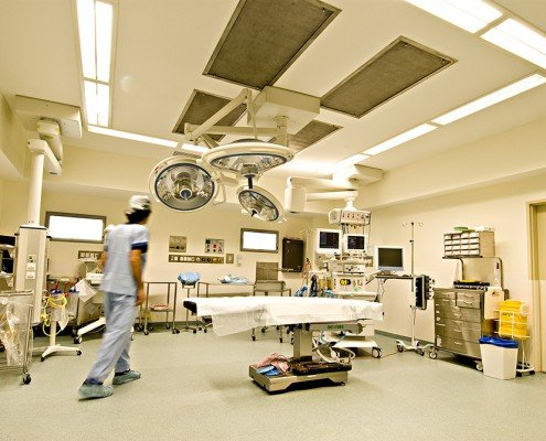 Royal Hobart Hospital operating theatre