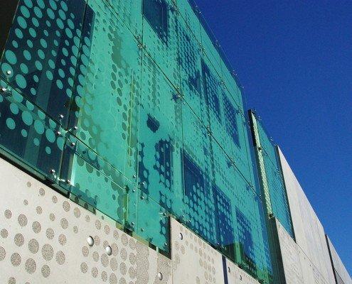 Royal Hobart Hospital Infill Building - exterior glazed facade
