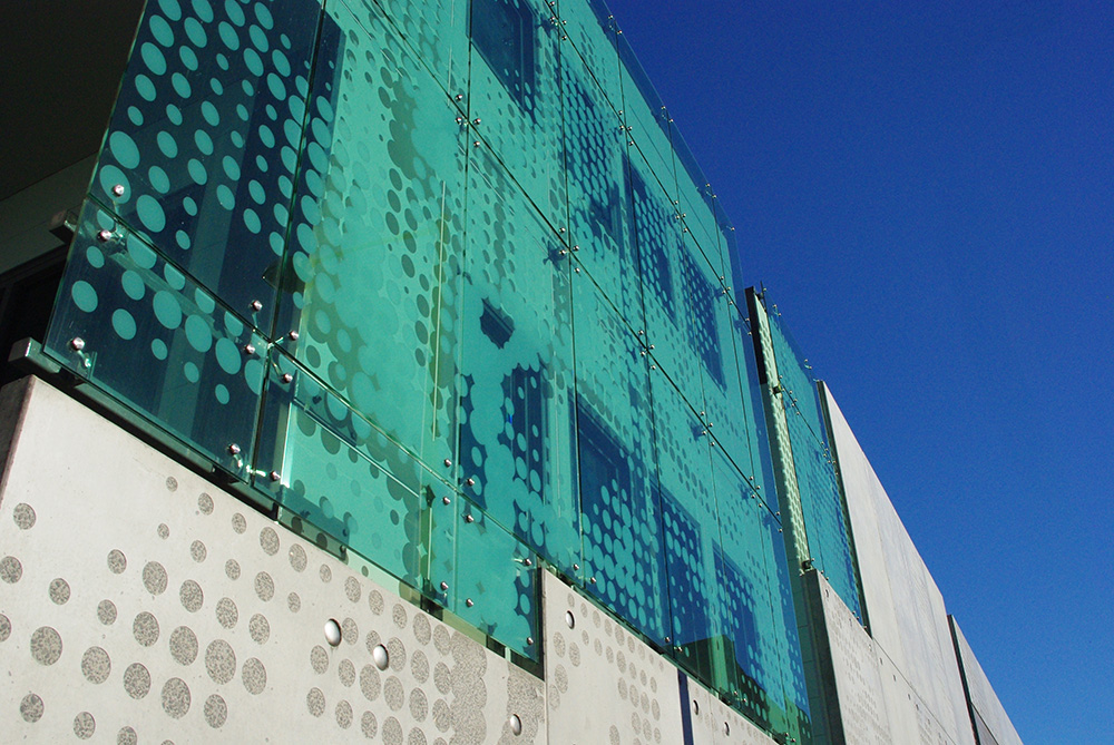 Royal Hobart Hospital Infill Building - exterior glazed facade