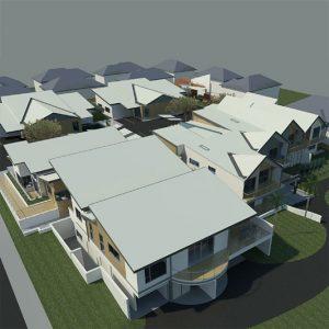 Freemasons' Bowditch Hostel ILU's - 3D Concept design
