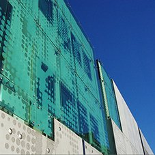 Royal Hobart Hospital - Infill building facade