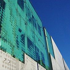 Royal Hobart Hospital - Infill building facade