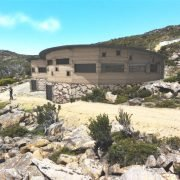 Mt Mawson Day Shelter - Concept design by Green Design Sustainable Architecture