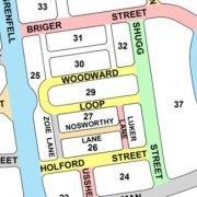 Division of Taylor Street Map Bill Shugg honoured
