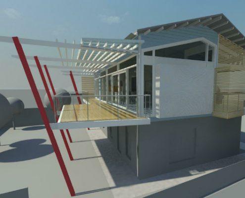 Aldinga Beach, Beach House, South Australia - 3D render concept design