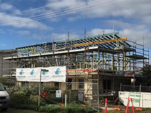 Aldinga Beach, Beach House - steel raise