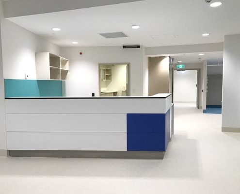 Royal Hobart Hospital Multi Purpose Ward completed