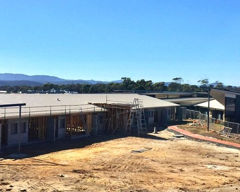 Rubicon Grove Aged Care Facility in construction, Port Sorell, Tasmania