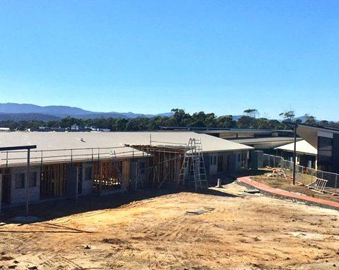 Rubicon Grove Aged Care Facility in construction, Port Sorell, Tasmania