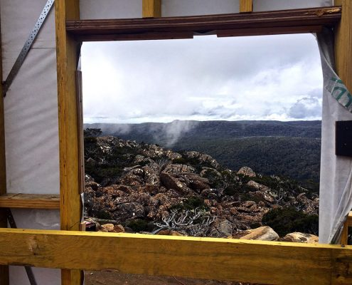 Mt Mawson Construction window to the wilderness