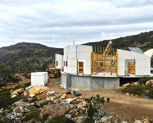 Mt Mawson Construction