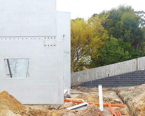Freeman Estate construction, Kingston Tasmania