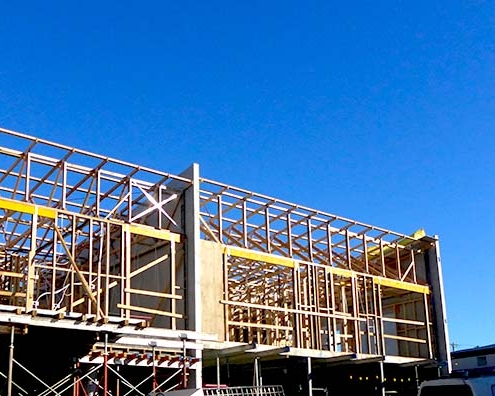 Freeman EstateILU Independent Living Units in construction in Kingston, Tasmania