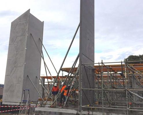 Kingston Community Health Centre_concrete facades