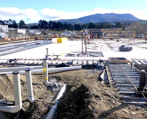 Kingston Community Health Centre_ground works and insulation