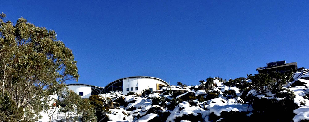 Mt Mawson Day Shelter and Ski Patrol facilities_in construction