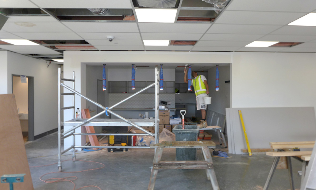 Kingston Health Centre reception area coming to life