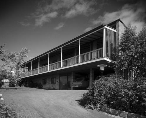 """Bornholm"" Red Chapel Ave, Sandy Bay, 1962 - J.S. (Jim) Moon"