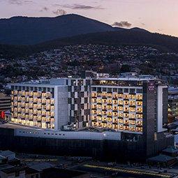 Crowne Plaza Hotel - Birds eye view