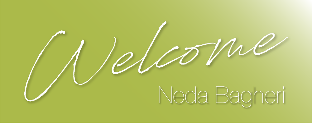 Welcome, Neda Bagheri
