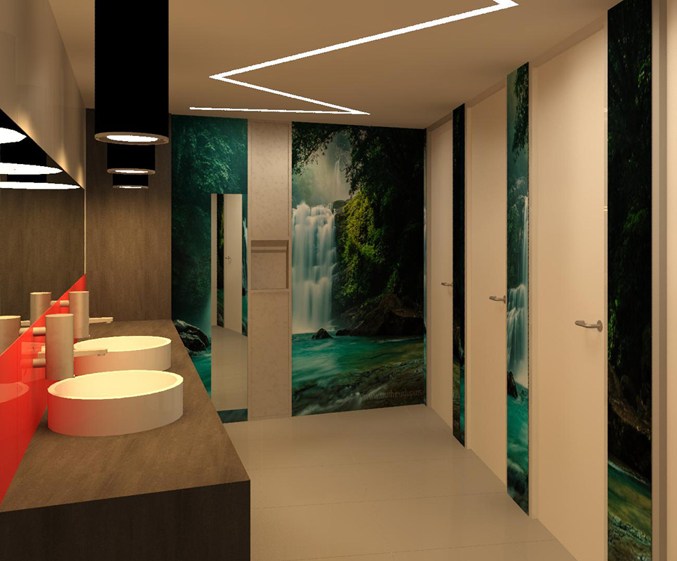 3D Renders and visualisation example project_office amenities