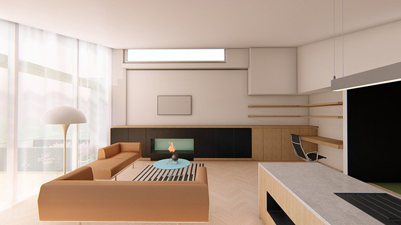 3D Renders and visualisation example project_apartments