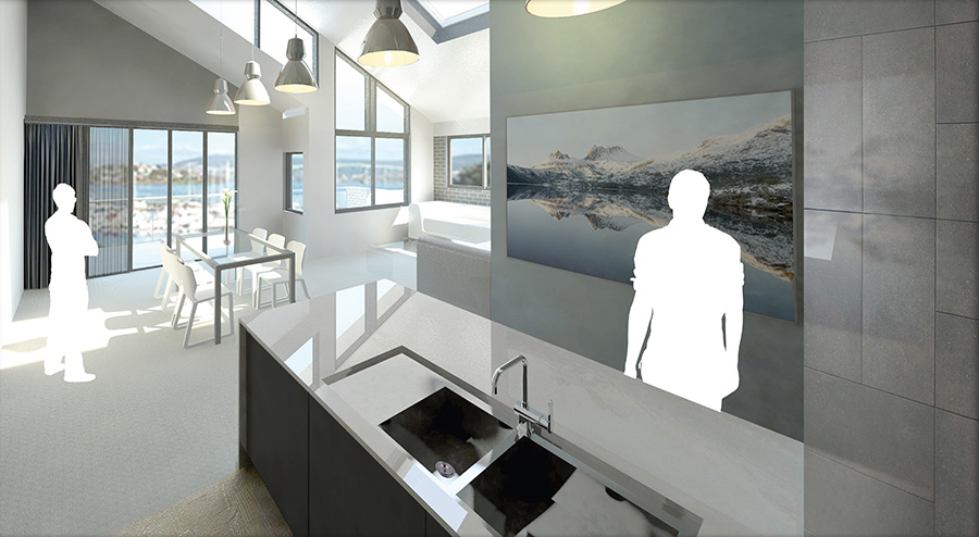 3D Renders and visualisation example project_units